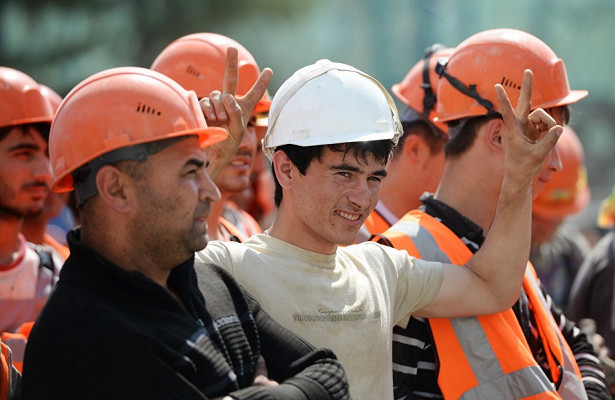 трудовые мигранты в России