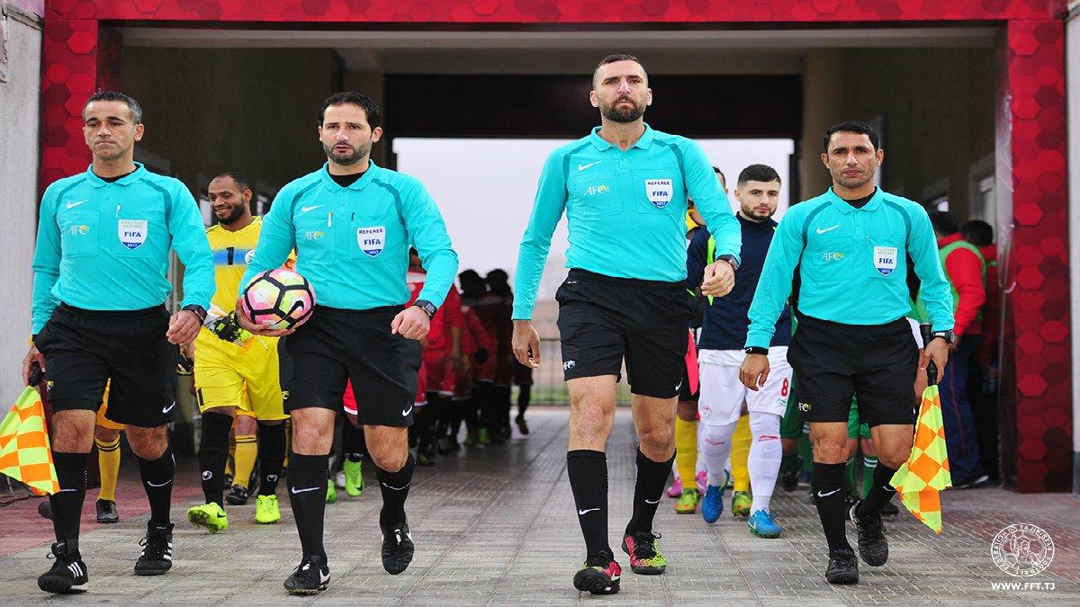 Судейская бригада из Ливана рассудит матчи